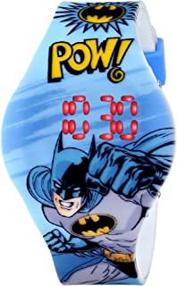 Batman Kids' BAT4215 Digital Display Analog Quartz Blue Watch
