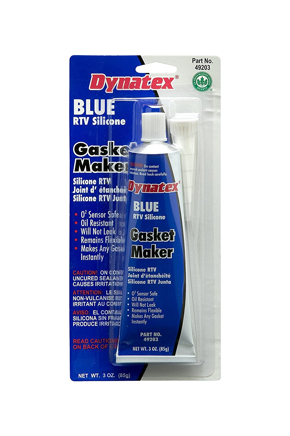Dynatex 49203 Low Volatile RTV Selling rankings Silicone store Maker D 500 Gasket 0 to