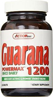 Action Labs Guarana 1200 Powermax , 60 Count