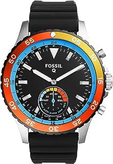 Fossil Q Crewmaster Gen 2 Hybrid Black Silicone Smartwatch