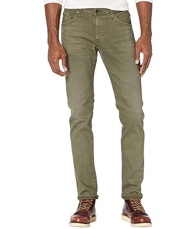 AG Adriano Goldschmied Tellis Modern Slim Leg Jeans in 7 Years Sulfur Fresh Jive (7 Years Sulfur Fresh Jive) Men