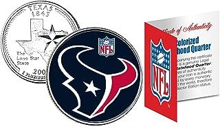 HOUSTON TEXANS NFL Texas U.S. Statehood Quarter U.S. Coin *Licensed*