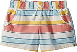 Lucky Brand Kids - Tia Stripe Shorts (Big Kids)