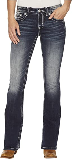 Miss Me - Bootcut Jeans in Medium Dark