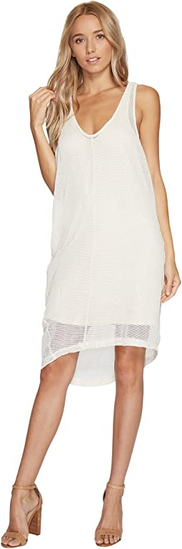 Daryl Square Mesh Tank Dress