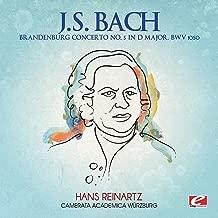 J.S. Bach: Brandenburg Concerto No. 5 in D Major, BWV 1050 (Digitally Remastered)