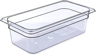 Carlisle 3066107 StorPlus Third Size Food Pan, Polycarbonate, 4