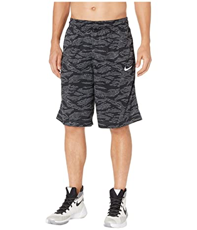 Nike Dry Courtlines Shorts All Over Print (Dark Grey/White) Men