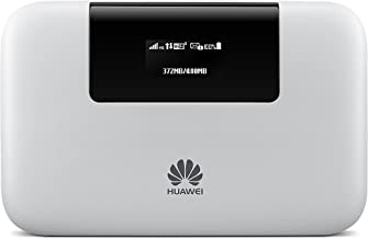 Huawei E5770s-320 4G LTE 150 Mbps Mobile WiFi Pro (20 hours working, Power Bank Feature, Ethernet Port) (White)