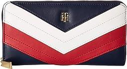 Corp Gift Large Zip Wallet