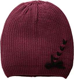 Laced-Up Beanie