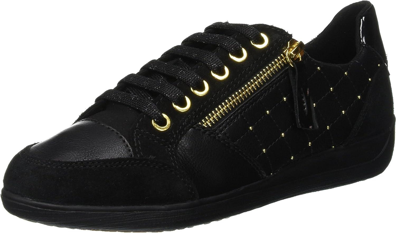 Geox Women's D Myria B Low-Top Sneakers C9999 Black 8 Super Finally popular brand sale period limited