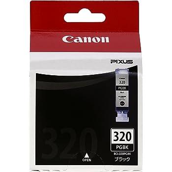 Canon 純正インクカートリッジ BCI-320 ブラック BCI-320PGBK
