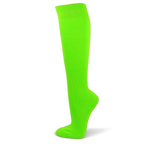 3df864b66 Couver Unisex Polyester Soccer Knee High Socks Sports Team Socks