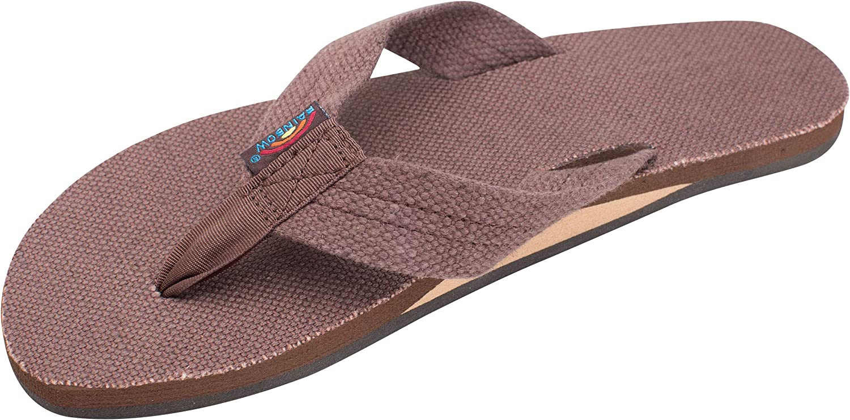 Rainbow Cheap mail order Now on sale shopping Sandals Women's Layer Single Hemp