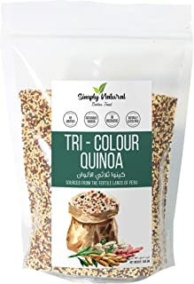 Simply Natural Tricolor Quinoa, 400g, Naturally Gluten-Free, Good Fiber Source