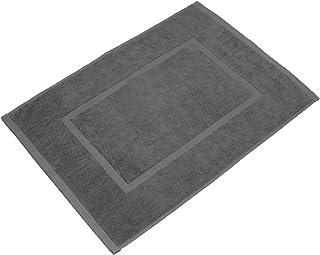 Juego de 2 alfombrillas de ba/ño 50 x 80 cm Lavea elena color gris