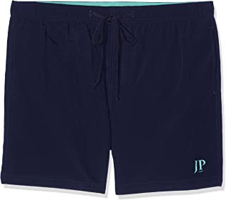 JP 1880 men's large sizes up to 7XL, swimming trunks, elasticated waistband, swimming shorts, inner briefs and half length, quick drying, 702532