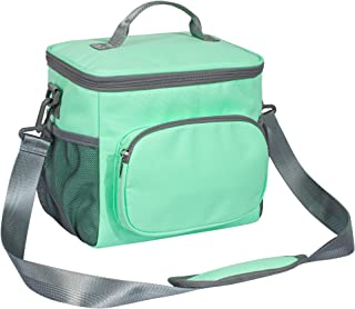 TOPERIN Lunch Box Insulated Lunch Bag for Men, Women Lunch Tote Bag Green