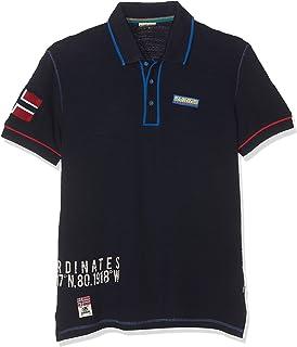 Elize BLU Marine Polo para Hombre