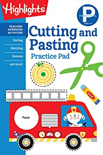 Preschool Cutting and Pasting (Highlights(TM) Learn on the Go Practice Pads)