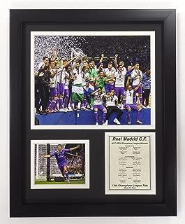 Legends Never Die Real Madrid FC - 2017 UEFA Champions League Winners - Framed 12
