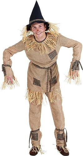 salida de fábrica Adult Adult Adult Classic Scarecrow Fancy dress costume Large  Sin impuestos