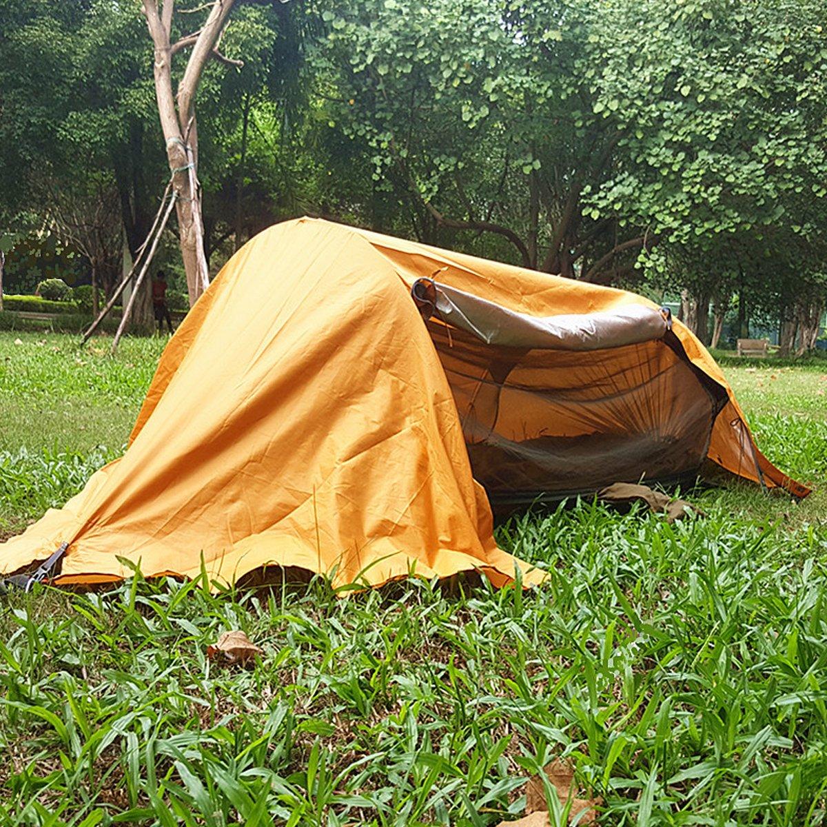 SNOWINSPRING Tienda Port/áTil Hamaca de Camping con Mosquitera Hamaca Port/áTil Multiuso Tienda de Columpio para IR de Excursi/óN una Acampar