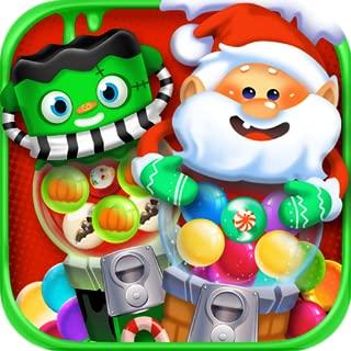 Candy Jawbreaker Maker – Halloween & Christmas Candy Machines and Make & Cook School Dessert Food Treats Kids Holiday Game