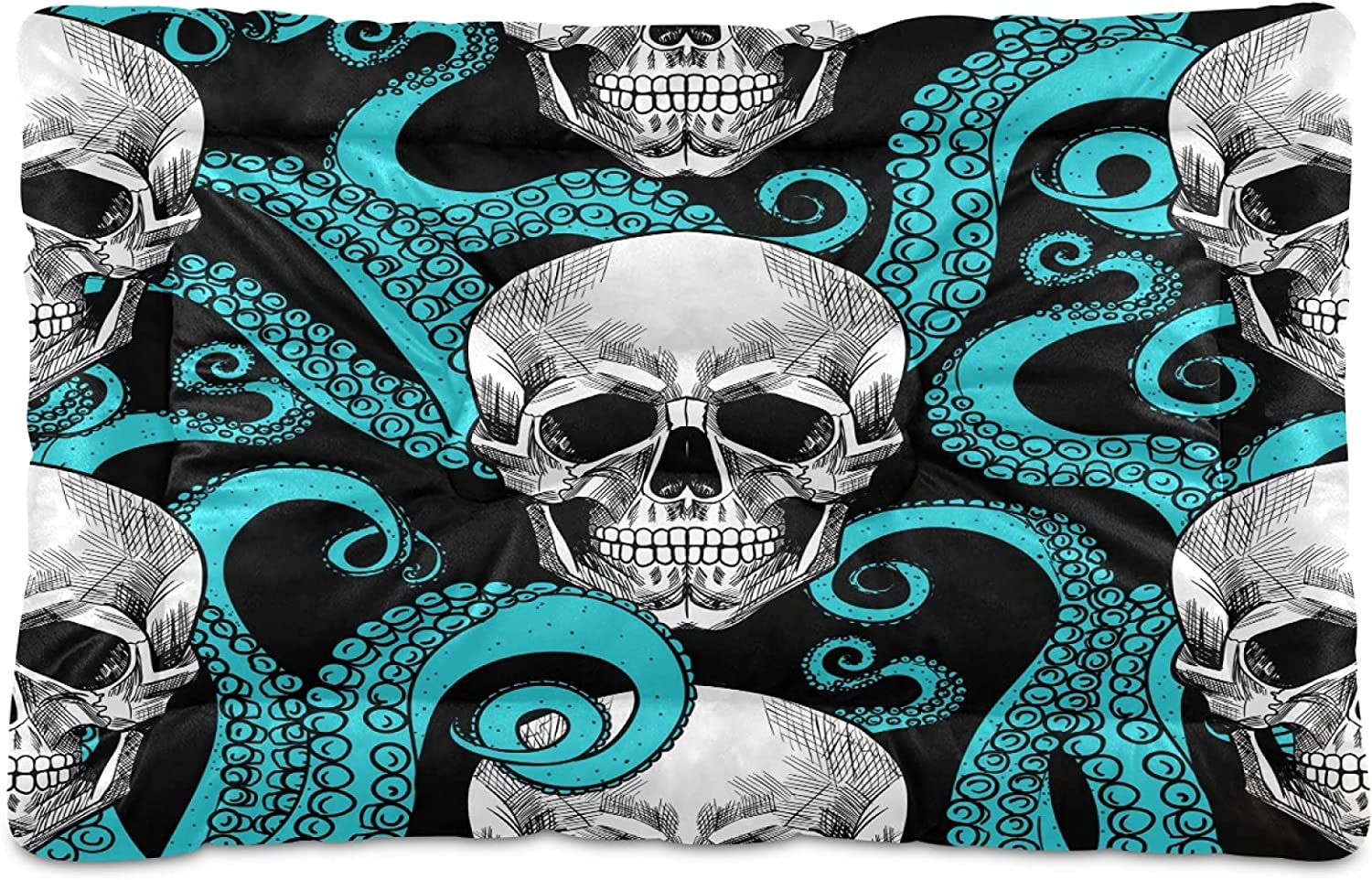 Soft Octopus Human Skull Max 67% OFF OFFicial site Cool Pet Bed P Large Dog for Medium Cat