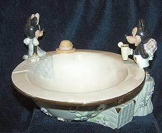 Lenox Disney Mickey & Minnie Afternoon Picnic Bowl Dish 2004