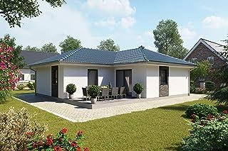 Venera - Kit de construcción para casa, bungalow en ángulo