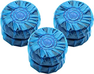 Automatic In-Tank Blue Toliet Bowl Bathroom Antibacterial Cleaner Tablets (6 Pieces)