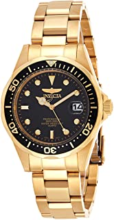 Men's 8936 Pro Diver Collection 23k Gold Plated Watch