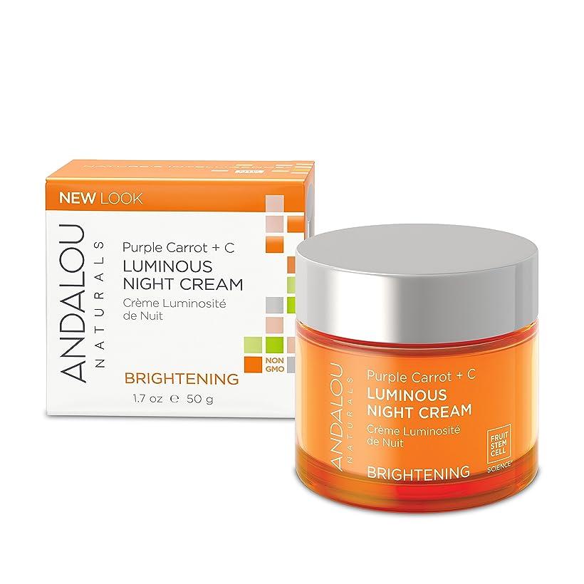 激怒個人的な装置オーガニック ボタニカル クリーム ナイトクリーム 美容クリーム ナチュラル フルーツ幹細胞 「 PC+C ルミナスナイトクリーム 」 ANDALOU naturals アンダルー ナチュラルズ