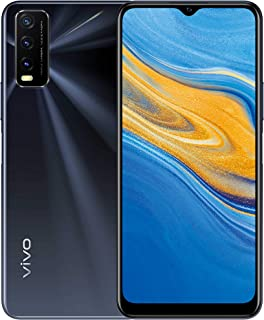"vivo Y20s Dual Nano Sim 4G Smartphone, 128GB, 6.51"" Halo FullView Display (Obsidian Black)"