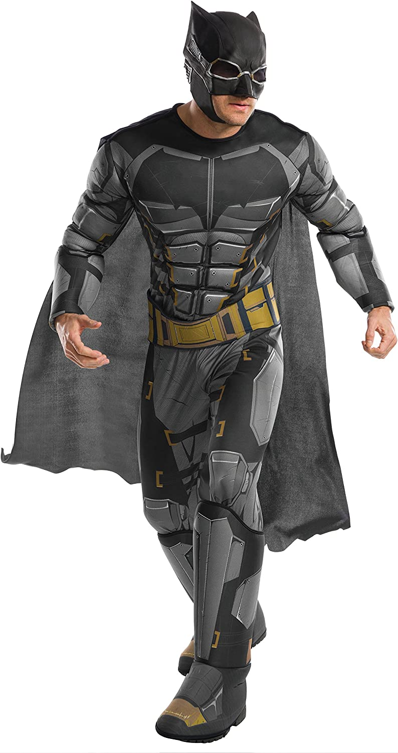 Rubie's Justice League Adult Sale Batman Year-end gift Costume Deluxe Tactical