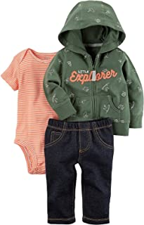Carter's Baby Boys' 3 Piece Little Explorer Jacket Set