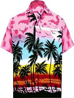 LA LEELA Mujer Kaftan Rayón Túnico Bordado Kimono Estilo Más tamaño Vestido para Loungewear Vacaciones Ropa de Dormir & Ca...