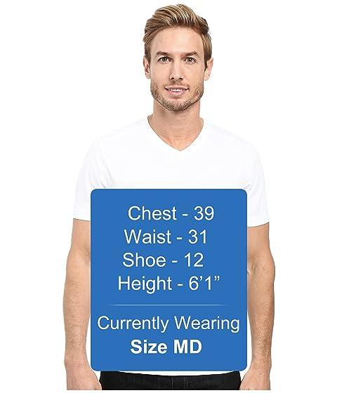 blanca V en de Agave cuello manga con Agave Denim y Camiseta corta Supima 4wdHx7qqSv