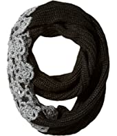 Betsey Johnson - Winter Bloom Infinity Scarf