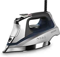 BLACK+DECKER Allure Professional Steam Iron, D3030, Blue