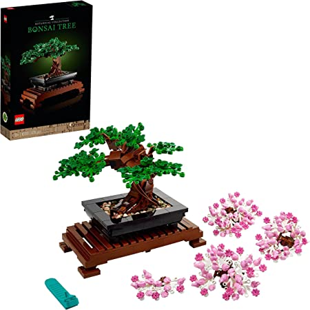 LEGO10281CreatorExpertBotanicalBonsáiSetdeConstrucciónManualidadesparaAdultosColecciónBotánica