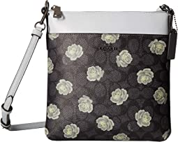 Messenger Crossbody in Coated Canvas Signature with Print