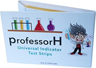Litmus pH Test Strips | (pH 1-14), Universal Indicator, 2 Packs of 100 Strips. Test and Track Your Water, Diet, Saliva, Pool, Aquarium, Urine, and Soil.