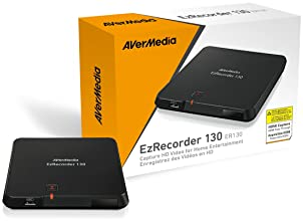 AVerMedia EzRecorder, HD Video Capture High Definition HDMI Recorder, PVR, DVR, Schedule Recording, 32GB Flash Drive ...