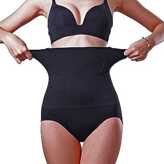 MELERIO Women's Body Shpaer, High Waisted Tummy Control Panties, Butt Lifter Shapermint Shapewear for Women