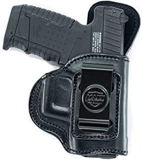 Maxx Carry Inside The Waistband Leather Holster for Sig Sauer P239. IWB Holster with Clip Conceal Carry.