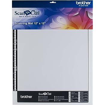 Brother CAMATS12 Scan-N-Cut - Alfombrilla de escaneo, Color Blanco ...