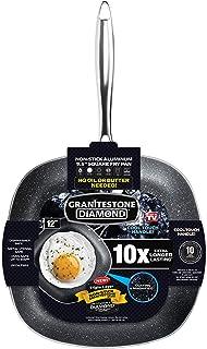 GRANITESTONE 2149 Square Non-stick, No-warp, Mineral-enforced Pan PFOA-Free As Seen On TV (12-inch)
